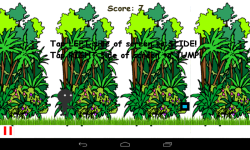 Jungle StickMan Runner screenshot 2/4