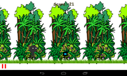 Jungle StickMan Runner screenshot 3/4