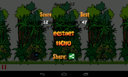 Jungle StickMan Runner screenshot 4/4