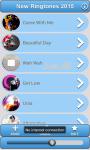 New Ringtones 2015 screenshot 1/4