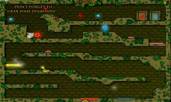 FireBoy And WaterGir in The Forest Temple screenshot 4/4