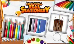 Educational Real Stationery screenshot 1/6
