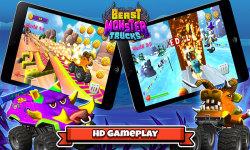 Beast Monster Trucks screenshot 2/6