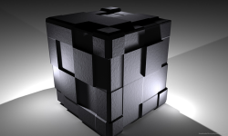 3d cube wallpaper screenshot 1/4