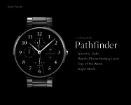 Pathfinder watchface by Lionga emergent screenshot 2/6