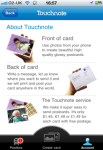Touchnote Postcards for iPhone screenshot 4/4