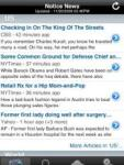 Notice News Aggregator screenshot 1/1