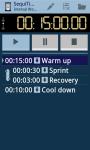 SequiTimer the interval timer screenshot 1/6