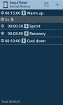 SequiTimer the interval timer screenshot 2/6