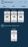SequiTimer the interval timer screenshot 3/6