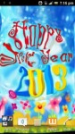 Touch Ripples New Year HD LWP screenshot 5/6