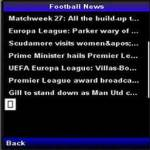 Football Fixtures free screenshot 1/4