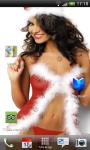 Sexy Christmas Hot Girl Lwp XY screenshot 2/3