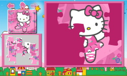Puzzle Hello Kitty screenshot 2/5