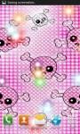 Pink Girly Skulls wallpaper screenshot 2/3