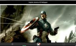 Captain America HD Wallpaper screenshot 3/3