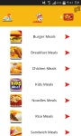 Feed Me App Mobile screenshot 4/6