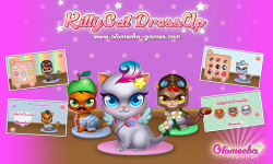 Kitty Cat Pet Dress Up Baby meow screenshot 1/4