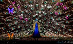 3D Peacocks Live Wallpaper screenshot 1/4