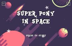Super Pony In Space screenshot 1/6