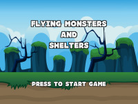 Flying Monsters And Shelters screenshot 1/6
