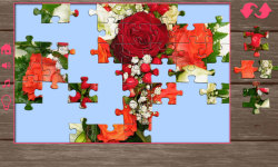 Puzzles for adults flowers screenshot 5/6