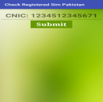 Check Registered Sim Pakistan screenshot 3/4