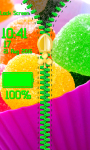 Candies Zipper Lock Screen screenshot 5/6