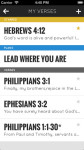 Bible memorization made easy -- Bible Minded App screenshot 2/5
