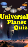 Universal Planet Quiz screenshot 1/4
