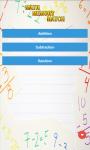 Math Memory Match screenshot 1/6