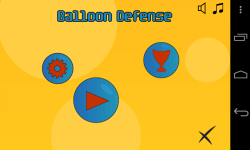 Balloon Defense Free screenshot 1/3