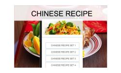 Chinese recipes food screenshot 1/3