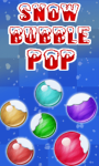 Snow Bubble Pop Free screenshot 1/1