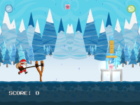 Crazy Christmas Catapult screenshot 3/6