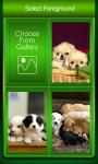Zipper Lock Screen Puppy screenshot 3/6