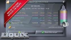 LIQUIX Liquidrechner and Manager active screenshot 3/6