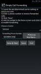 Simple Call Forwarding maximum screenshot 2/6