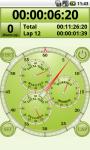 Analog Interval Stopwatch screenshot 2/5