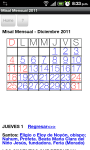 Misal para Diciembre 2011 screenshot 2/3