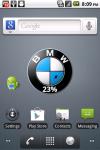 BMW Battery Widget screenshot 1/3
