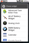 BMW Battery Widget screenshot 3/3
