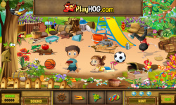 Free Hidden Object Games - The Selfish Giant screenshot 3/4
