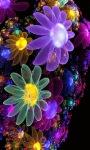 Multicolor Flowers LWP screenshot 2/3