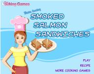 Barbie Cooking Smoked Salmon Sandwiches screenshot 1/4