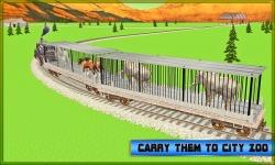 Train Transport: Zoo Animals screenshot 2/4