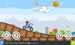 Becak hill climb racing screenshot 3/5