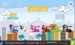 Becak hill climb racing screenshot 4/5