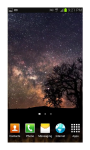 HD Space Live Wallpaper screenshot 1/5