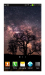 HD Space Live Wallpaper screenshot 2/5
